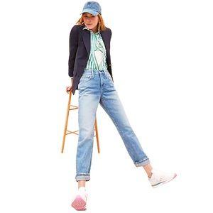 J. Crew 87% Cotton Straight Leg Women's Jeans - 26